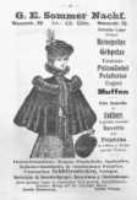 Reklama zakładu z kapeluszami