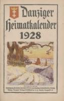 Danziger Heimatkalender, 1928