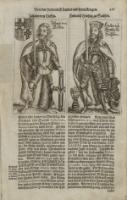 Johann von Tiefen ; Friedrich von Sachsen