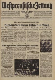 Westpreussische Zeitung, Nr. 275 Donnerstag 21 November 1940, 9. Jahrgang