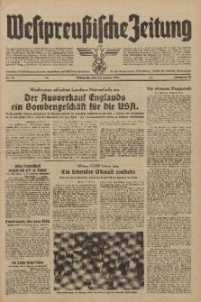 Westpreussische Zeitung, Nr. 12 Mittwoch 15 Januar 1941, 10. Jahrgang