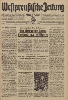 Westpreussische Zeitung, Nr. 32 Freitag 7 Februar 1941, 10. Jahrgang