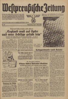 Westpreussische Zeitung, Nr. 55 Donnerstag 6 März 1941, 10. Jahrgang
