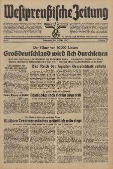 Westpreussische Zeitung, Nr. 61 Donnerstag 13 März 1941, 10. Jahrgang