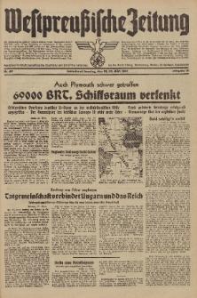 Westpreussische Zeitung, Nr. 69 Sonnabend/Sonntag 22/23 März 1941, 10. Jahrgang