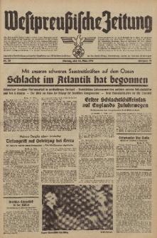 Westpreussische Zeitung, Nr. 70 Montag 24 März 1941, 10. Jahrgang