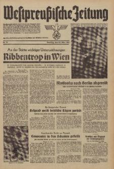 Westpreussische Zeitung, Nr. 71 Dienstag 25 März 1941, 10. Jahrgang