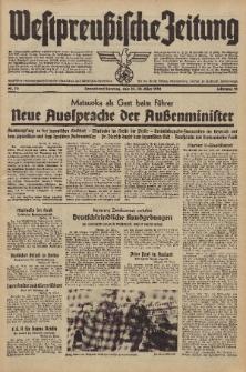 Westpreussische Zeitung, Nr. 75 Sonnabend/Sonntag 29/30 März 1941, 10. Jahrgang