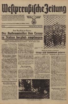 Westpreussische Zeitung, Nr. 76 Montag 31 März 1941, 10. Jahrgang