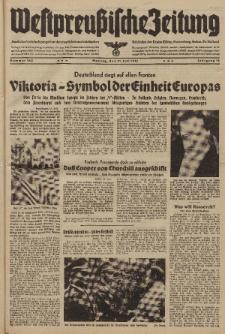 Westpreussische Zeitung, Nr. 168 Montag 21 Juli 1941, 10. Jahrgang