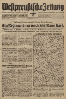 Westpreussische Zeitung, Nr. 180 Montag 4 August 1941, 10. Jahrgang