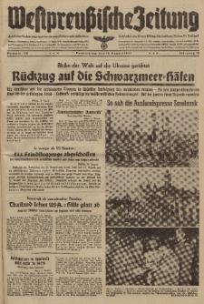 Westpreussische Zeitung, Nr. 189 Donnerstag 14 August 1941, 10. Jahrgang