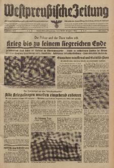 Westpreussische Zeitung, Nr. 203 Sonnabend/Sonntag 30/31 August 1941, 10. Jahrgang