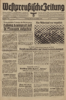 Westpreussische Zeitung, Nr. 220 Freitag 19 September 1941, 10. Jahrgang