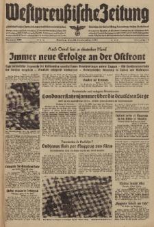 Westpreussische Zeitung, Nr. 222 Montag 22 September 1941, 10. Jahrgang