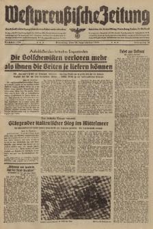Westpreussische Zeitung, Nr. 229 Dienstag 30 September 1941, 10. Jahrgang