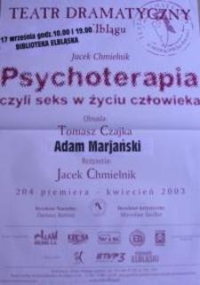 Psychoterapia - czyli seks w życiu człowieka