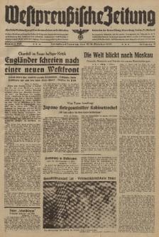 Westpreussische Zeitung, Nr. 245 Sonnabend/Sonntag 18/19 Oktober 1941, 10. Jahrgang