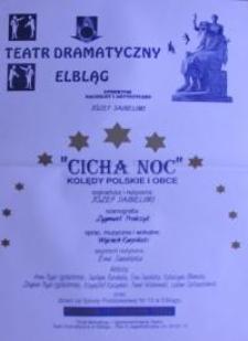 Cicha noc - kolędy polskie i obce