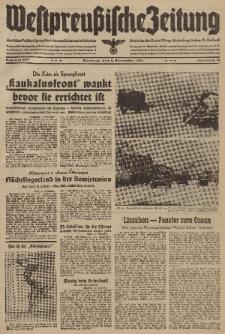 Westpreussische Zeitung, Nr. 259 Dienstag 4 November 1941, 10. Jahrgang