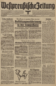 Westpreussische Zeitung, Nr. 266 Mittwoch 12 November 1941, 10. Jahrgang