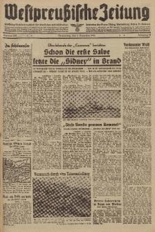 Westpreussische Zeitung, Nr. 285 Donnerstag 4 Dezember 1941, 10. Jahrgang
