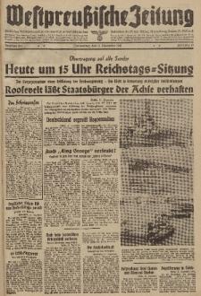 Westpreussische Zeitung, Nr. 291 Donnerstag 11 Dezember 1941, 10. Jahrgang