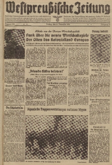 Westpreussische Zeitung, Nr. 298 Freitag 19 Dezember 1941, 10. Jahrgang