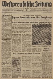 Westpreussische Zeitung, Nr. 299 Sonnabend/Sonntag 20/21 Dezember 1941, 10. Jahrgang