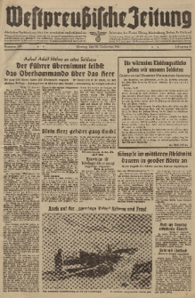 Westpreussische Zeitung, Nr. 300 Montag 22 Dezember 1941, 10. Jahrgang