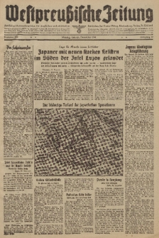 Westpreussische Zeitung, Nr. 304 Montag 30 Dezember 1941, 10. Jahrgang