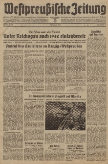 Westpreussische Zeitung, Nr. 306 Silvester 31 Dezember 1941, 10. Jahrgang