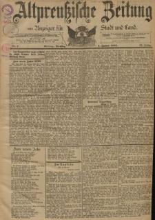 Altpreussische Zeitung, Nr. 1 Dienstag 1 Januar 1895, 47. Jahrgang