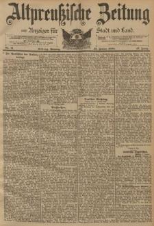 Altpreussische Zeitung, Nr. 11 Sonntag 13 Januar 1895, 47. Jahrgang