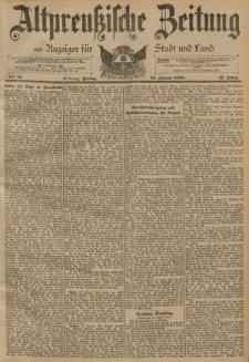 Altpreussische Zeitung, Nr. 15 Freitag 18 Januar 1895, 47. Jahrgang