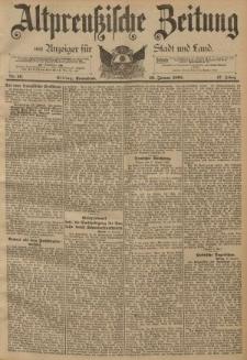 Altpreussische Zeitung, Nr. 16 Sonnabend 19 Januar 1895, 47. Jahrgang