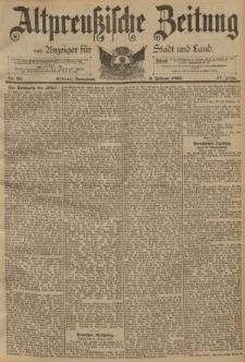 Altpreussische Zeitung, Nr. 28 Sonnabend 2 Februar 1895, 47. Jahrgang