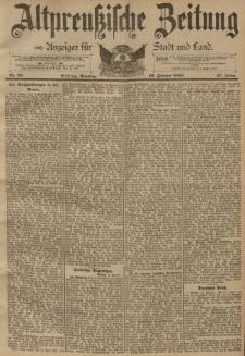 Altpreussische Zeitung, Nr. 36 Dienstag 12 Februar 1895, 47. Jahrgang