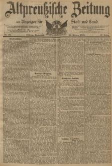 Altpreussische Zeitung, Nr. 40 Sonnabend 16 Februar 1895, 47. Jahrgang