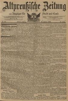 Altpreussische Zeitung, Nr. 45 Freitag 22 Februar 1895, 47. Jahrgang