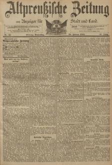 Altpreussische Zeitung, Nr. 50 Donnerstag 28 Februar 1895, 47. Jahrgang
