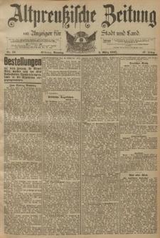 Altpreussische Zeitung, Nr. 53 Sonntag 3 März 1895, 47. Jahrgang