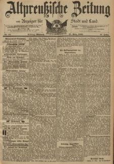 Altpreussische Zeitung, Nr. 73 Mittwoch 27 März 1895, 47. Jahrgang