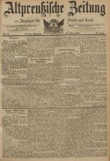 Altpreussische Zeitung, Nr. 76 Sonnabend 30 März 1895, 47. Jahrgang