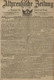 Altpreussische Zeitung, Nr. 77 Sonntag 31 März 1895, 47. Jahrgang