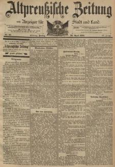 Altpreussische Zeitung, Nr. 97 Freitag 26 April 1895, 47. Jahrgang
