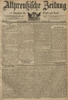 Altpreussische Zeitung, Nr. 100 Dienstag 30 April 1895, 47. Jahrgang