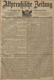 Altpreussische Zeitung, Nr. 101 Mittwoch 1 Mai 1895, 47. Jahrgang