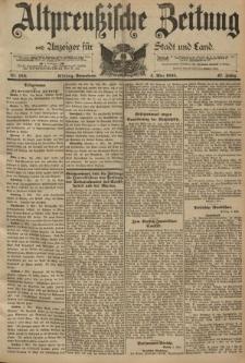 Altpreussische Zeitung, Nr. 104 Sonnabend 4 Mai 1895, 47. Jahrgang
