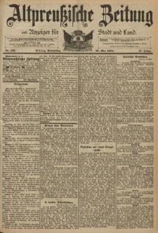 Altpreussische Zeitung, Nr. 125 Donnerstag 30 Mai 1895, 47. Jahrgang